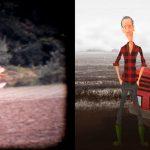 Tim de Groot - Concept art (red tractor of Mr de Groot)