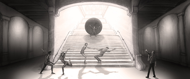 Sisyphus - Achtergrond (Stedelijk museum)